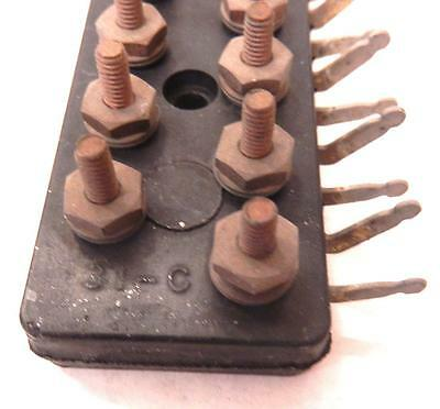 Position Western Electric 31-A Telephone Terminal  Block Strip 31A Brass