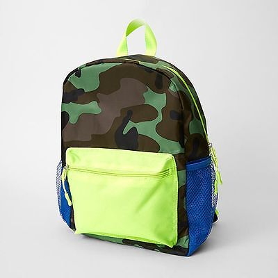 NEW Fluro Camouflage Backpack Kids