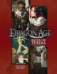 Dragon Age RPG: PRESALE Faces of Thedas sourcebook green ronin New
