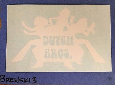 Dutch Bros Coffee Sticker Decal Brothers-Charlie's Angels