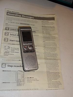 CES SONY ICD-B500 VOICE RECORDER DIGITAL w/Manual