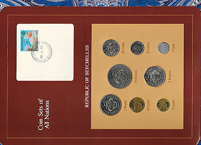 Coin Sets of All Nations Seychelles 1977-1982 UNC 5 cents 1981 22JL82