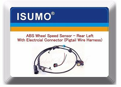 ABS Speed Sensor Left Rear W/ Pigtail  Wire Connector Fits: Lancer & Outlander