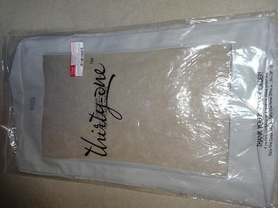 Thirtyone Thirty-One Gifts Top a Tote Taupe - New in package - Large Utility