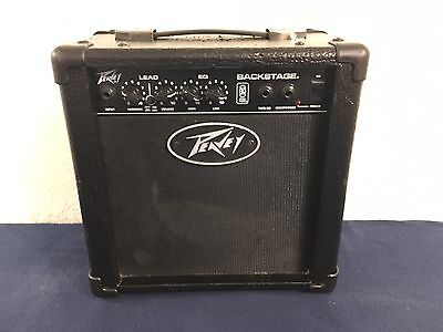 Peavey Backstage Guitar Combo Amp Amplifier 26 Watts Works