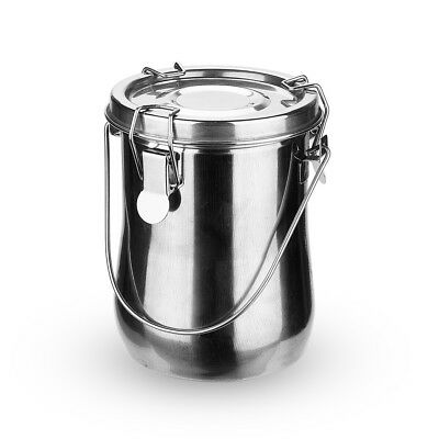 Large Stainless Steel Leak-Proof Premium Brush Washer with Lid and Filter Screen