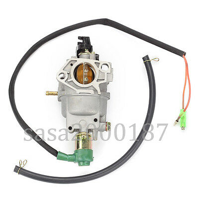 Carburetor Carb W/ Solenoid For Honda GX390 13HP 188 Generator Engine USA