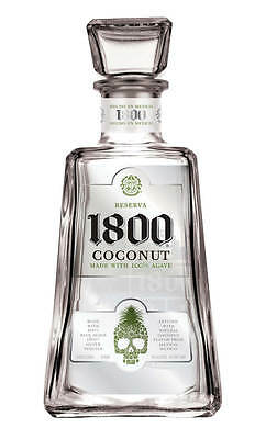 1800 Coconut 100% Agave Silver Tequila 750ml