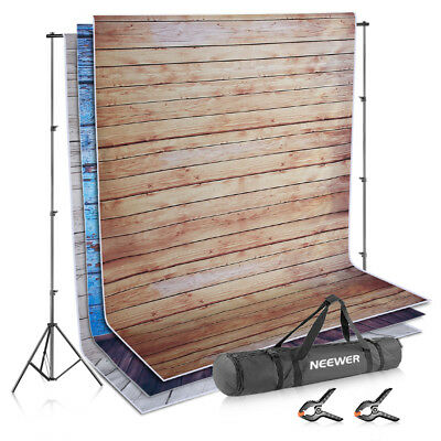 Neewer Studio Backdrop Background and Support Kit with Light Stands + Crossbars