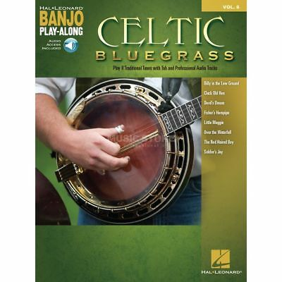 Hal Leonard Hal Leonard - Banjo Play-Along Volume 8: Celtic Bluegrass