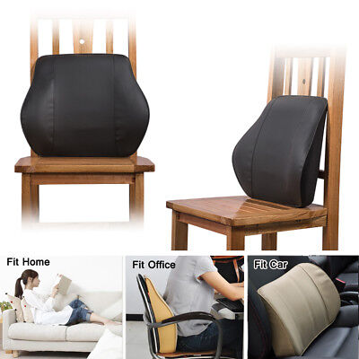 LUMBAR Spine Lower Back Brace Support Cushion - Ache Pain Relief Chair Car Seat