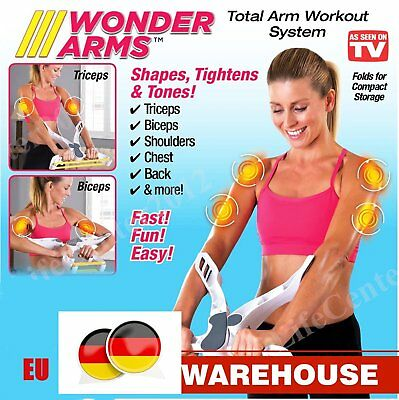 2017 New Arm Workout Fitness Machine Useful Wonder Arms Exercise Band Upper Body