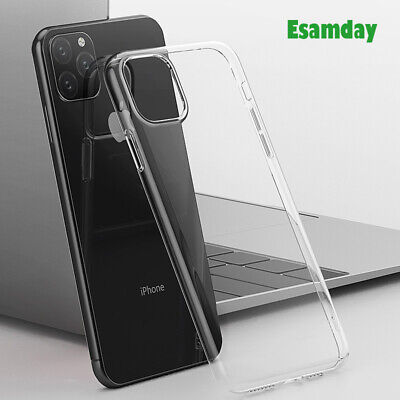 For iPhone 8/8Plus/7 X Soft Silicone TPU Ultra Thin Clear Transparent Cover Case