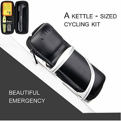 Bicycle Tool Bag Cycling Tool Bottle Cage Storage Box For Key Repair Tool Kit PM