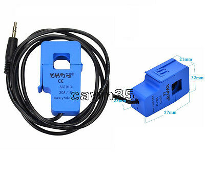 SCT-013-020 Non-invasive AC 20A current sensor Split Core Current Transformer