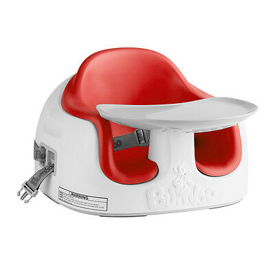 Bumbo Multi Seat - Red, Kids Booster Feeding Chair, Only at Toys R Us