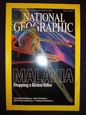 National Geographic - July 2007 - Malaria