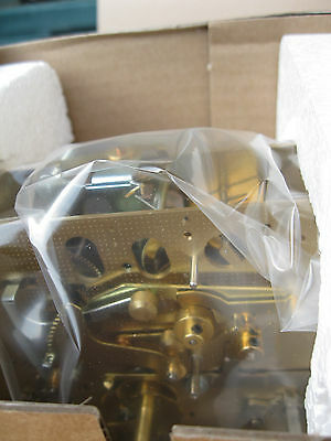 NIB Hermle 1050 tripe chime bracket movement with chimes and fittings