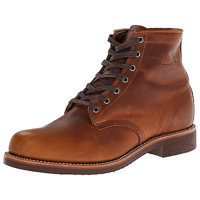 Chippewa 1901G26 Tan Mens Leather Ankle Boots