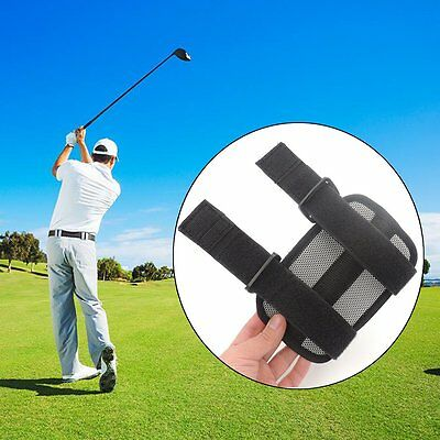 Golf Swing Posture Elbow Brace Corrector Alignment Guide Training Support PY