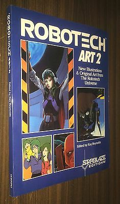 ROBOTECH Art 2 -- New Illustrations & Original Art -- 1987 Starblaze Editions