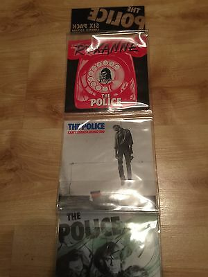 "The Police 6 Six Pack Limited Edition 7"" Blue Vinyl AMPP 6001 Rare Sting"