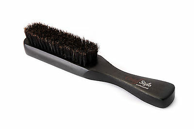 Black Wooden Hair Brush Skin Fade Brush Only Style for Salons and Barber Shops