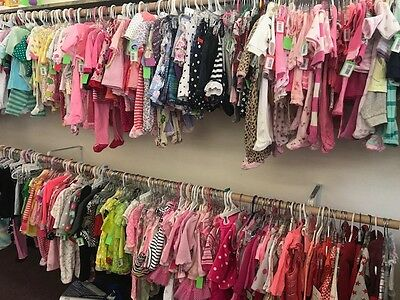 Wholesale Lot 500 Pieces Childrens Clothing Girls Boys Toddler NEW Shelf Pulls