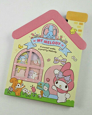 My Melody Sanrio Die Cut Memo Pad Stationery Kawaii Mail