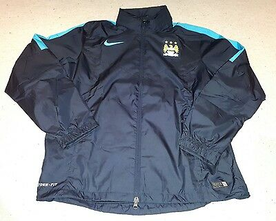 Manchester City Football - Full Zip Storm-Fit Jacket by Nike - Size XL - BNWT