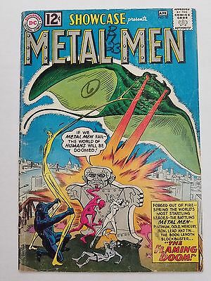 SHOWCASE # 37 - 1st APPEARANCE OF THE METAL MEN - GOOD PLUS 2.5 - KEY ISSUE!