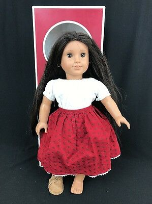 """American Girl Doll Josefina 18"""" W/ Box Partial Meet Outfit Clothing Not Complete"""