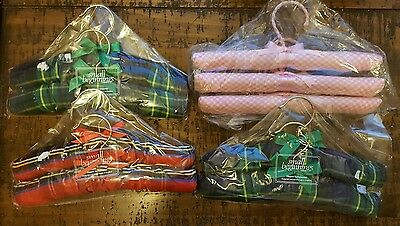 Vintage Padded Hangers Set Cushion Delicate Handmade in England Children's 10""