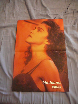 MADONNA PIN UP POSTER PHOTO AFFICHE 11 x 16 CLIPPING
