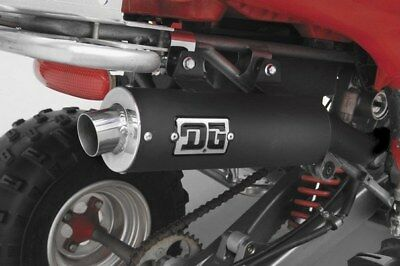 DG Performance RCM II Slip-On Exhaust for Kawasaki KFX450