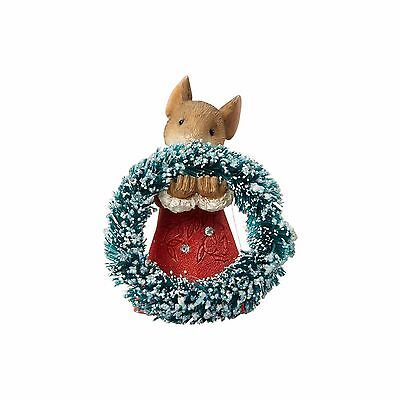 Heart of Christmas Mouse 4057653 Mouse With Wreath  NIB