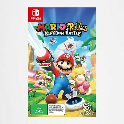 NEW Mario + Rabbids Kingdom Battle - Switch