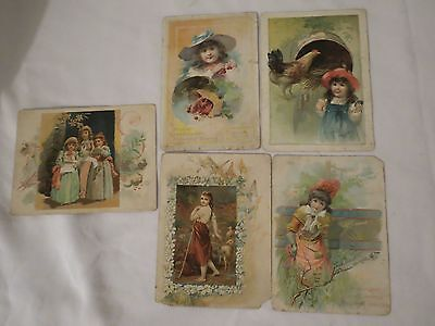 5 Lion Coffee Trade Cards