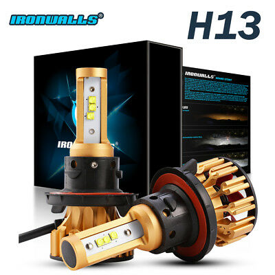 1020W 153000LM Cree LED Headlight Kit H13 9008 Conversion Lamp Bulbs Hi/Lo 6000K