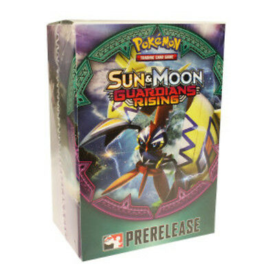 Sun & Moon Guardians Rising Prerelease Kit Box Pokemon TCG Factory Sealed