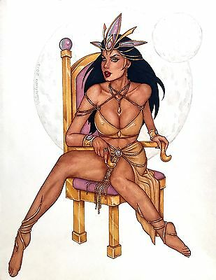 Dejah Thoris - Original Art by Conny Valentina