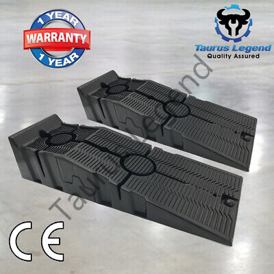 3000kg Heavy Duty Car Ramps Pair High Quality 915mm Long Antiskid Service Ramp