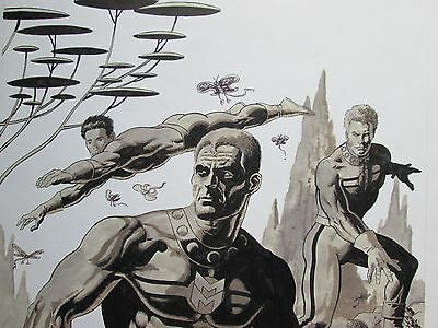 Miracleman Cover - Paul Gulacy