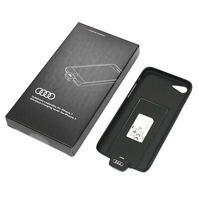 Audi Induktive Ladehülle Original Handycover iPhone 7 Wireless Charging Cover