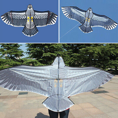 Huge 1.5m/1.8m Eagle Kite Single Line Novelty Animal Kites Children's Kid Toys