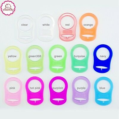 MAM RING ADAPTOR Dummy Clips pacifier strap baby toddler silicone clip soother