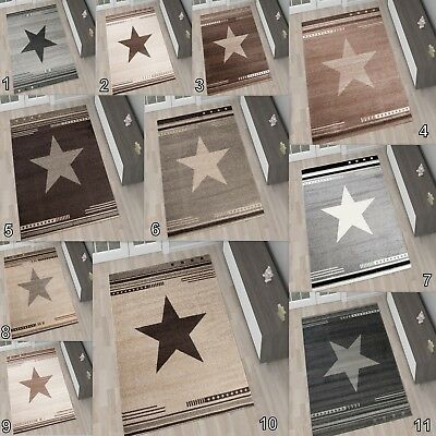 Area Stars Rugs For Living Room Children's Bedroom Small Extra Large Play Mat