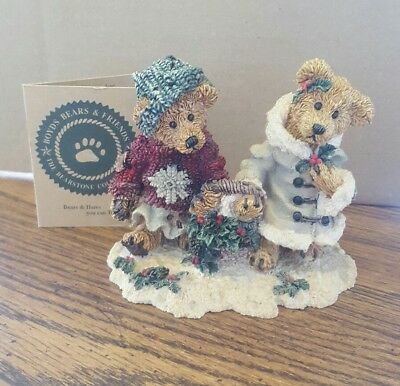 Boyds Bears and Friends...Edmond & Bailey..in box