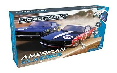 Scalextric C1362 American Classics Slot Car Set New In Box