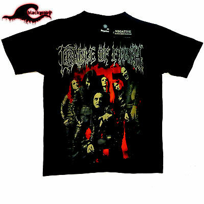 Cradle Of Filth - Red Group Photo - Band T-Shirt